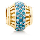 0.28 Carat TW Enhanced Blue Diamond Marrakesh Charm