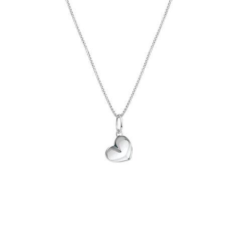 Heart Mini Pendant in Sterling Silver