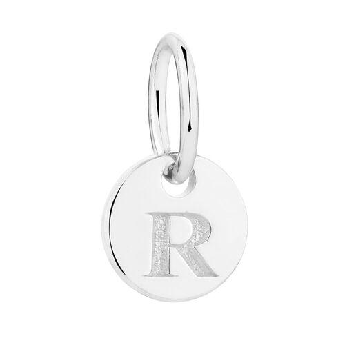R' Mini Pendant in Sterling Silver