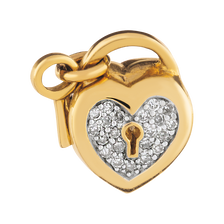 1/4 Carat TW Diamond Heart Locket Charm