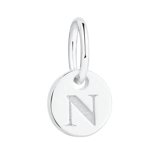 N' Mini Pendant in Sterling Silver