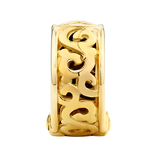 10ct Yellow Gold Filigree Swirl Stopper