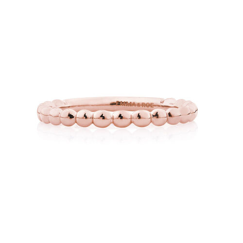 Bubble Stacker Ring in 10ct Rose Gold
