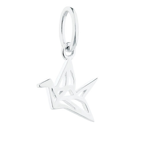 Crane Mini Pendant in Sterling Silver