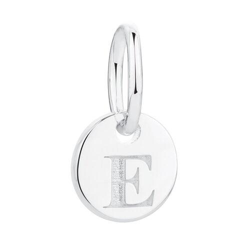 E' Mini Pendant in Sterling Silver