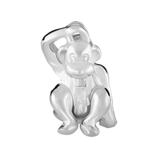 Sterling Silver Monkey Charm