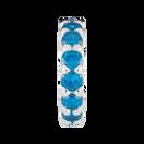 Blue Cubic Zirconia Spacer