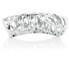 Sterling Silver Filigree Wild Hearts Sleeve