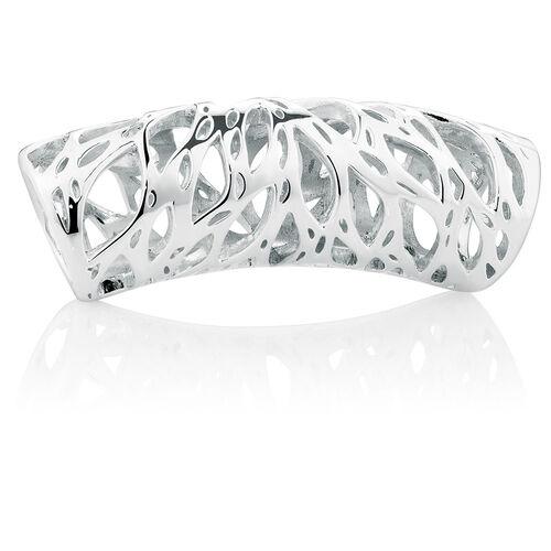 Sterling Silver Filigree Wild Hearts Sleeve