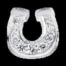 Stelring Silver Horseshoe Charm