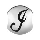 Sterling Silver 'J' Charm