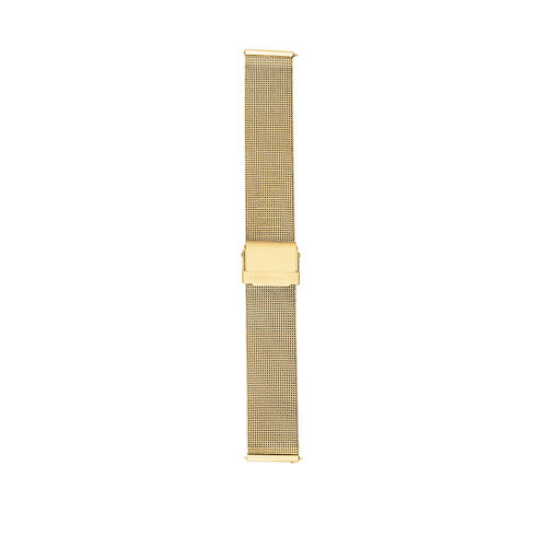 Mesh Watch Strap with Gold Tone Stainless Steel