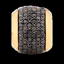 1/2 Carat TW Enhanced Black Diamond Marrakesh Charm