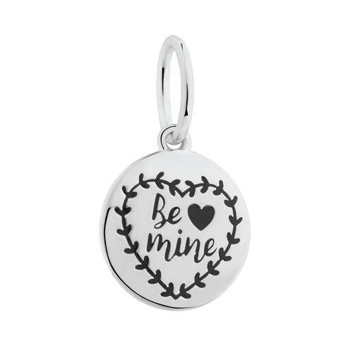 """Be Mine"" Mini Pendant in Sterling Silver"