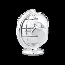 Sterling Silver Globe Charm