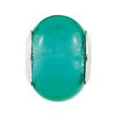 Green Murano Glass Charm