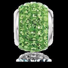 Green Crystal Charm