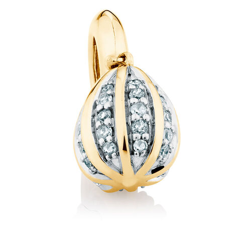 0.16 Carat TW Diamond Marrakesh Dangle Charm