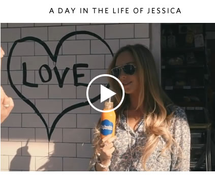 Watch the video: A day in the life of Jessica Sepel >