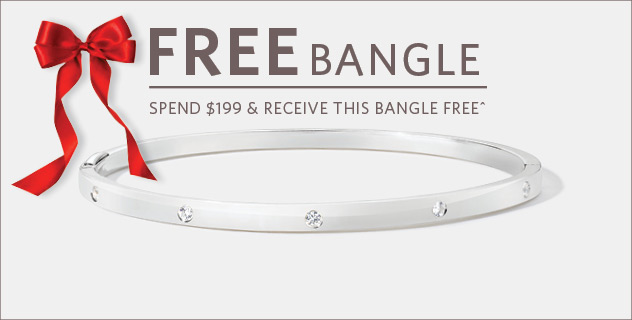 FREE BANGLE WHEN YOU SPEND $199