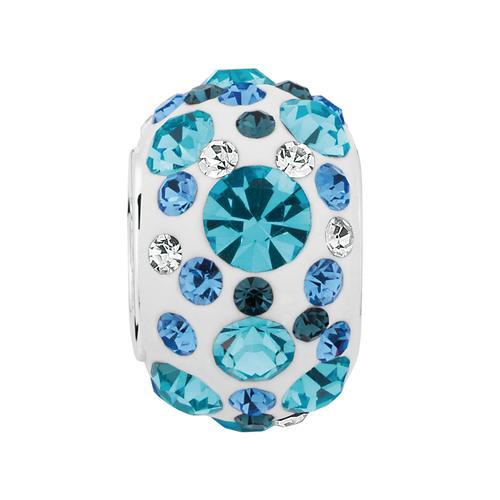 Aqua Crystal Charm