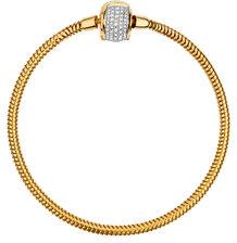 1/2 Carat TW Diamond Charm Bracelet