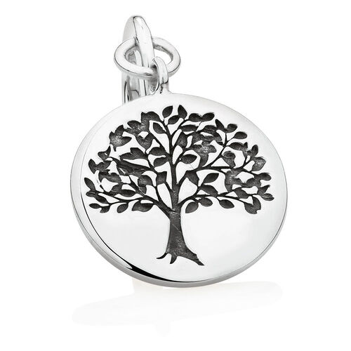 Wild Hearts Tree of Life Charm in Sterling Silver