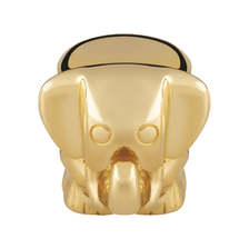 10ct Yellow Gold Elephant Charm