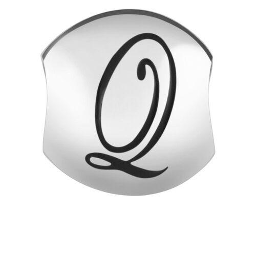 Sterling Silver 'Q' Charm