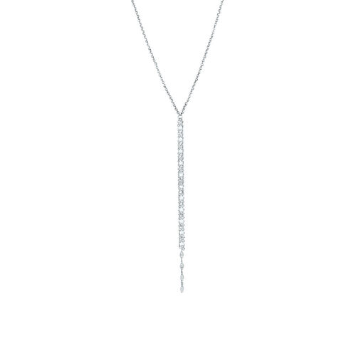 "45cm (18"") Y Necklace in Sterling Silver"