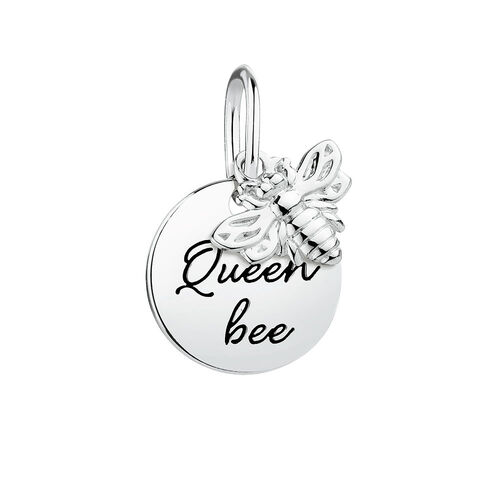 """Queen Bee"" Mini Pendant in Sterling Silver"