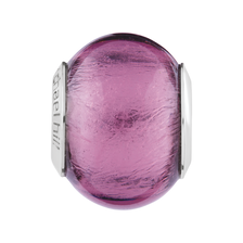 Purple Murano Glass Charm