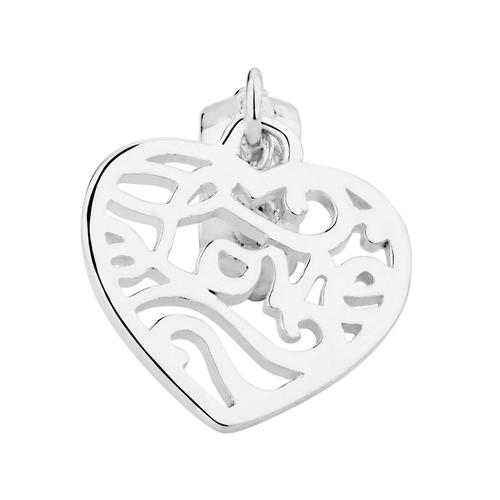 Sterling Silver Love Dangle Charm