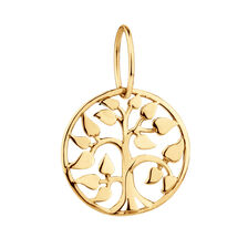 Tree of Life Mini Pendant in 10ct Yellow Gold