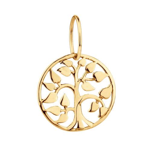 Tree of Life Mini Pendant in 10ct Yellow Gold
