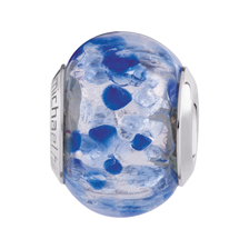 Dark Blue Murano Glass Charm