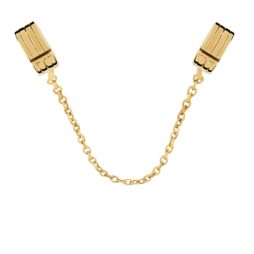 10ct Yellow Gold Safety Chain