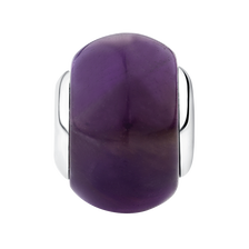 Amethyst & Sterling Silver Tranquillity Charm