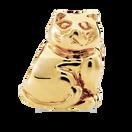 10ct Yellow Gold Cat Charm
