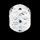 White &Enhanced Blue Diamond Set Marrakesh Charm