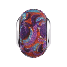Multi-Coloured Enamel Glitter Charm