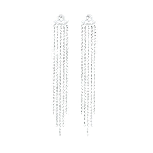 Tassel Earring Enhancers in Sterling Silver