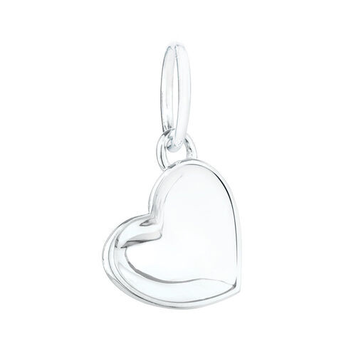 Heart Mini Pendant in Sterling Silver
