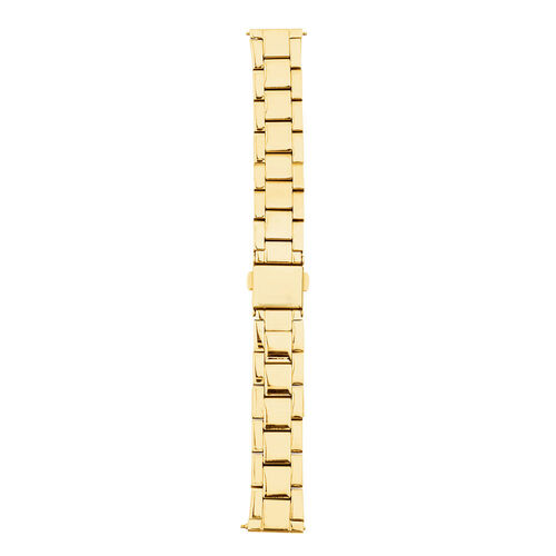 Small Watch Strap in Gold Tone Stainless Steel