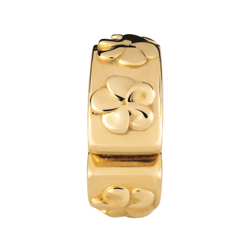 10ct Yellow Gold Flower Stopper