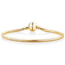 "19cm (7.5"") Charm Bracelet in 10ct Yellow Gold"