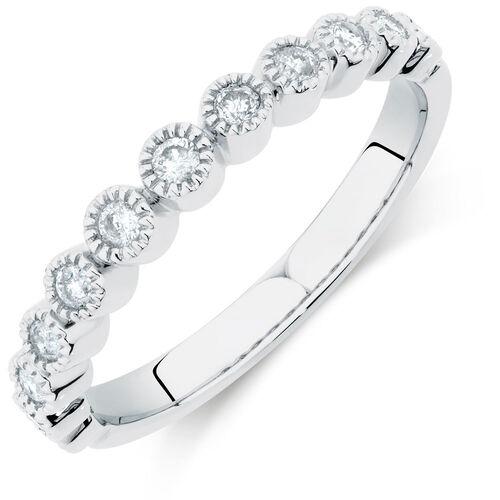 1/4 Carat TW Diamond Stacker Ring