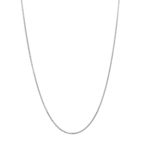 "80cm (32"") Square Belcher Chain in Sterling Silver"