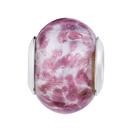 Dark Purple Murano Glass Charm