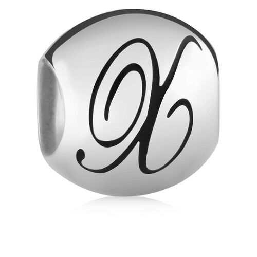 Sterling Silver 'X' Charm